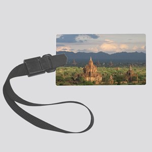 Bagan city of pagodas 1 Large Luggage Tag
