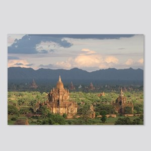 Bagan city of pagodas 1 Postcards (Package of 8)