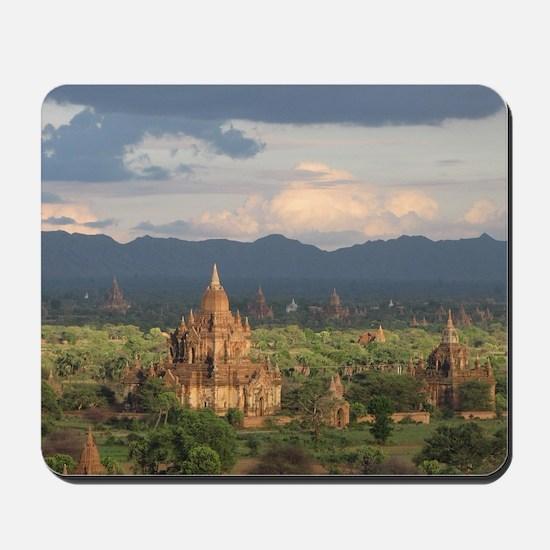 Bagan city of pagodas 1 Mousepad