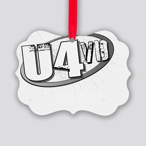 The Uptown 4 Official Logo Picture Ornament