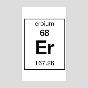 Erbium Rectangle Sticker