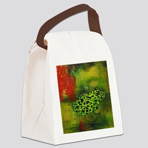 Tree Frog Canvas Lunch Bag
