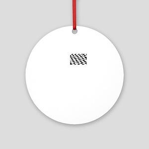 Danica Daytona Pole Round Ornament