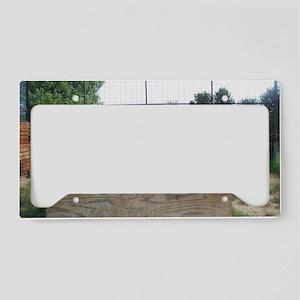 Kia  Sara License Plate Holder