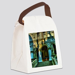 Venice clipboards Canvas Lunch Bag