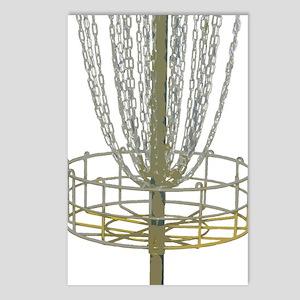 Disc Golf Basket Frisbee  Postcards (Package of 8)