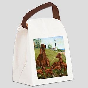 Family Fun Canvas Lunch Bag