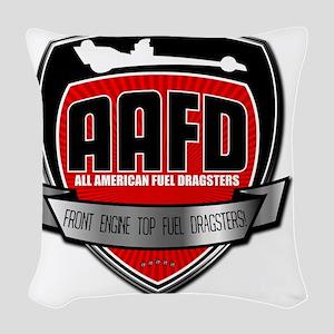 AA/FD Woven Throw Pillow