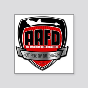 "AA/FD Square Sticker 3"" x 3"""