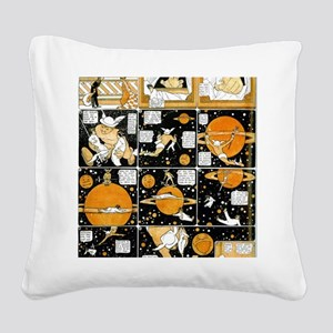 Little nemo in dreamland satu Square Canvas Pillow