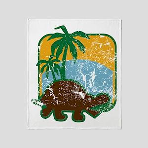 Schildkröte (used) Throw Blanket