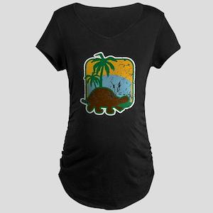 Schildkröte (used) Maternity Dark T-Shirt