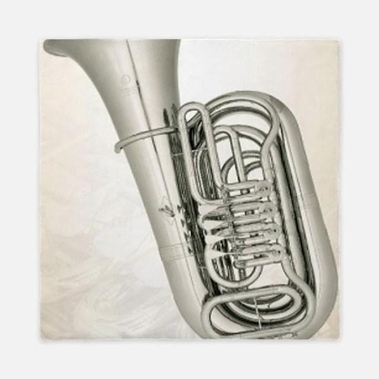 tuba-9 Queen Duvet