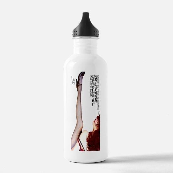Unbutton your love - b Water Bottle