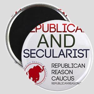 Republican and Secularist Apparel Magnet