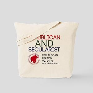 Republican and Secularist Apparel Tote Bag