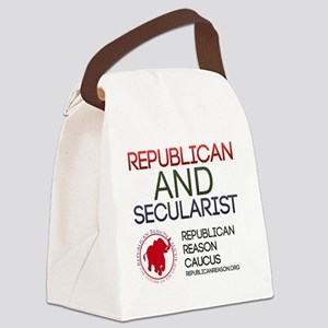 Republican and Secularist Apparel Canvas Lunch Bag