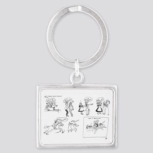 Fetch the Midwife Landscape Keychain