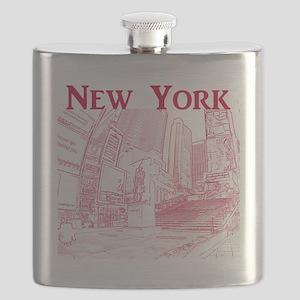 NewYork_10x10_DuffySquare_Red Flask