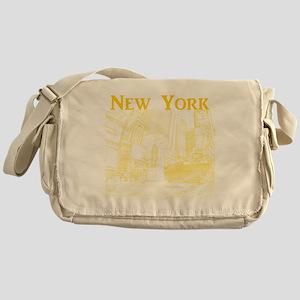 NewYork_10x10_DuffySquare_Yellow Messenger Bag