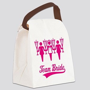 Team Bride (Bachelorette Party),  Canvas Lunch Bag