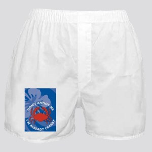 Dont Annoy Me Clipboard Boxer Shorts
