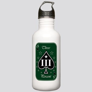 Ace - III - Green Whit Stainless Water Bottle 1.0L