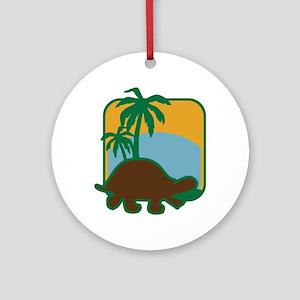 Schildkröte Round Ornament