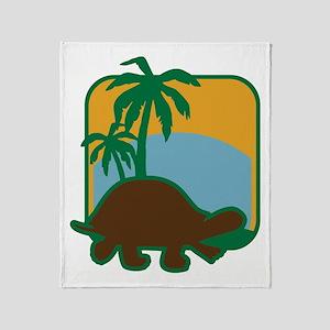 Schildkröte Throw Blanket