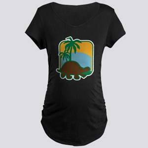 Schildkröte Maternity Dark T-Shirt