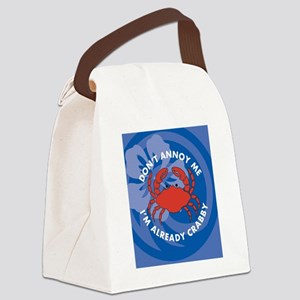 Dont Annoy Me Hexagon Ornament Canvas Lunch Bag