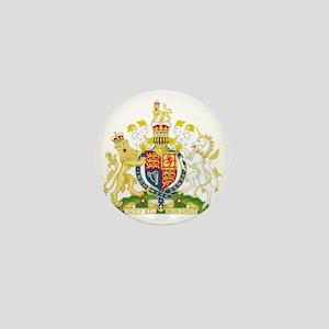 Royal COA of UK Mini Button