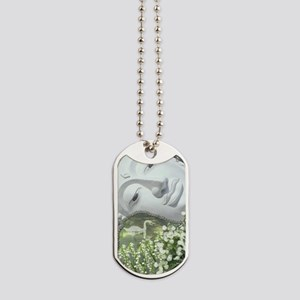 In the Garden - Quan Yin Flowers Dog Tags