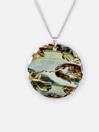 Sistine Chapel Ceiling 9X12 Necklace