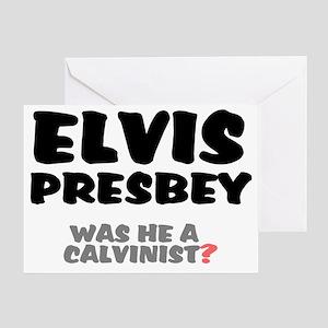PRESBEY - CALVINIST Greeting Card