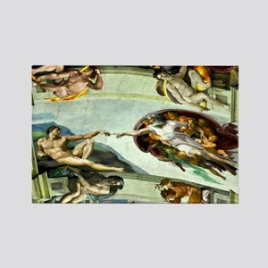 Sistine Chapel 17X15 Rectangle Magnet