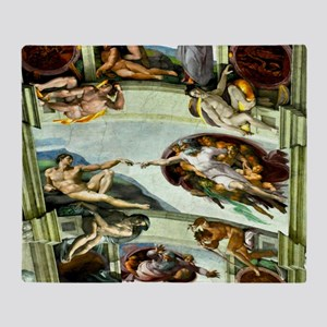 Sistine Chapel 17X15 Throw Blanket
