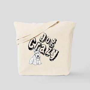 Dog Crazy Tote Bag