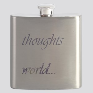 Change Your Thoughts (Dark) Flask