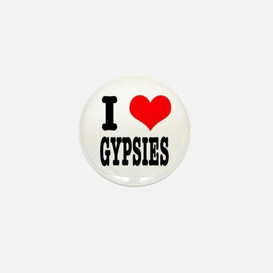 I Heart (Love) Gypsies Mini Button
