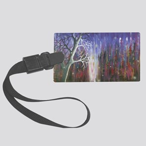 Original firefly painting Large Luggage Tag
