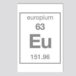 Europium Postcards (Package of 8)