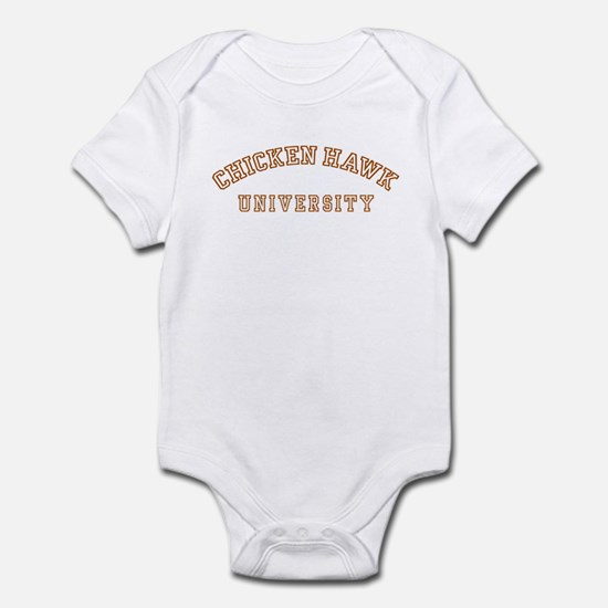 ChickenHawk University Infant Bodysuit