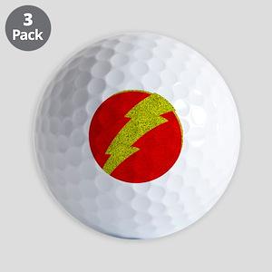 Flash Bolt Superhero Golf Balls