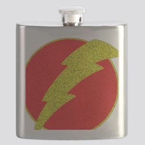 Flash Bolt Superhero Flask
