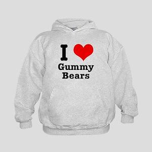 I Heart (Love) Gummy Bears Kids Hoodie