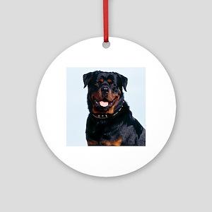 Rottweiler Round Ornament