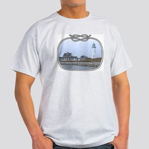 Old Scituate Lighthouse Light T-Shirt