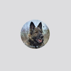 Belgian terv rainbow bridge Mini Button