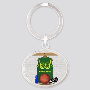 BBALL LARGE Keychains